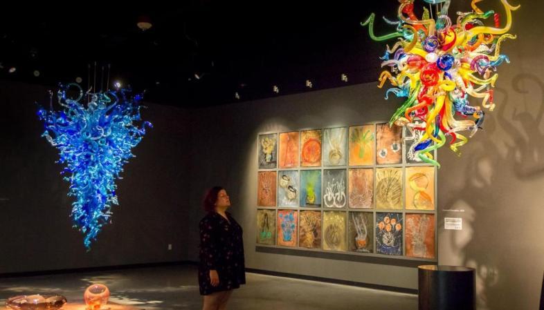 St. Pete - Chihuly Collection - O museu está cheio de obras impressionantes realizadas em vidro