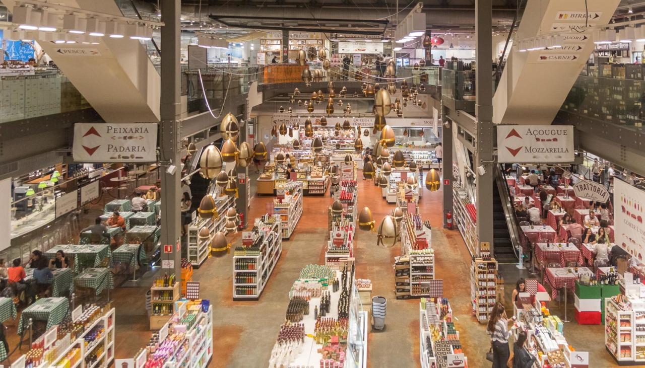 Eataly SP - A mistura de mercado e restaurantes é mais do que convidativa
