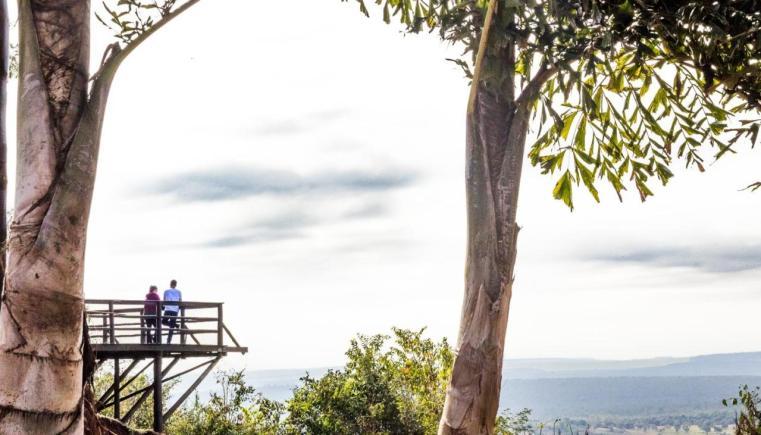 Roteiro de viagem em Brotas: mirantes e belas vistas estão espalhados pelo Recanto das Cachoeiras