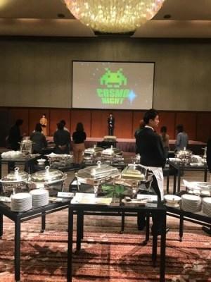 コスモゲームチェンジャーの夜と本日は東京でのセミナーです。