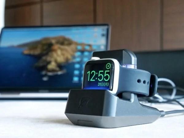 Apple Watchを充電しながら除菌できる!?