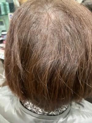 【大阪 今里】白髪染めにはLULUトリートメントがオススメ