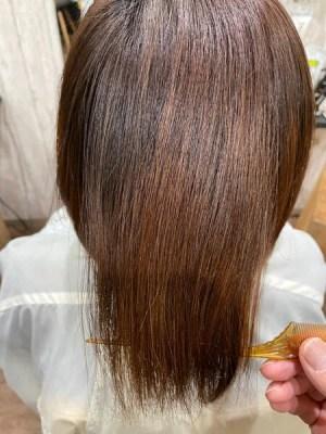 【大阪 今里】伸ばしている方にオススメのジュエリーシステムLULUトリートメントでする縮毛矯正