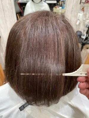 【大阪】白髪のパサツキ、髪質の変化にはLULUトリートメントととβeater-cream(ビータークリーム)がオススメ!