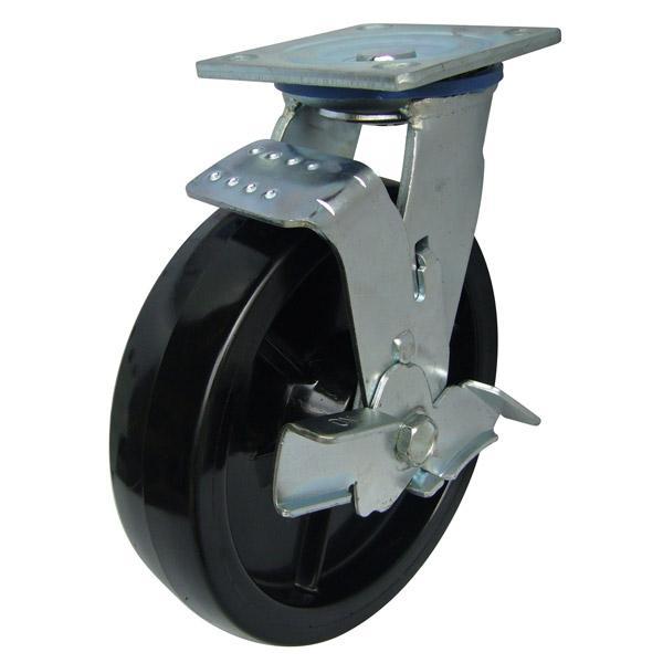 bánh xe Càng K xoay, có thắng, bánh xe PA