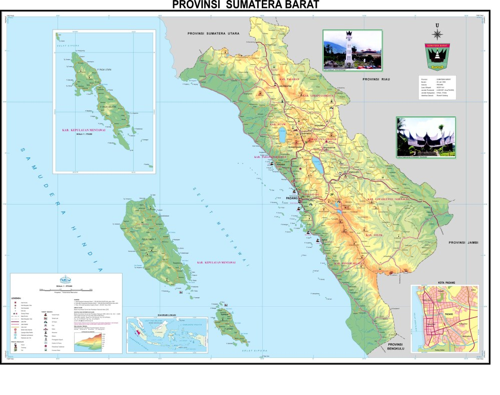 Download: Map of 33 Provinces in Indonesia (3/6)