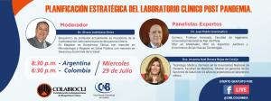 Webinar PLANIFICACIÓN ESTRATÉGICA DEL LABORATORIO CLÍNICO POST PANDEMIA