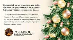 Mensaje Navidad COLABIOCLI