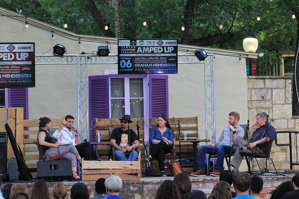Amped up panel discusses San Antonio's music economy.