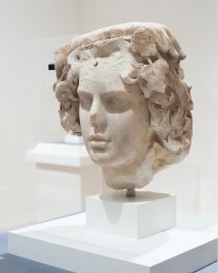 Surviving bust of Antinous.