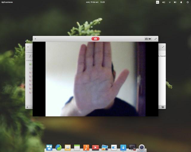 Webcam en Elementary
