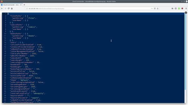Captura de pantalla mostrando el editor de texto y una archivo abierto mostrando la sintaxis del mismo en diferentes colores.