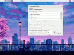 """Imagen de un escritorio GNU/Linux con la ventana de configuración de idiomas y el desplegable con las opciones de método de entrada, entre las que se ve """"ibus""""."""