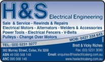h&s electrical
