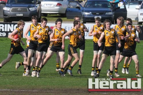 Colac Tigers under-16s