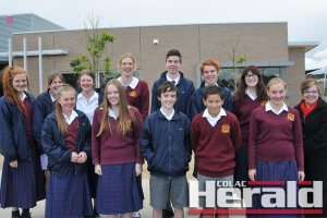 ourteen Trinity College Colac students will visit Malaysia and Indonesia with teacher Elana Cole, right.