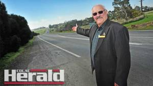 Colac Otway Shire councillor Brian Crook wants to improve safety for cyclists and walkers, with a trail linking Colac and Birregurra.