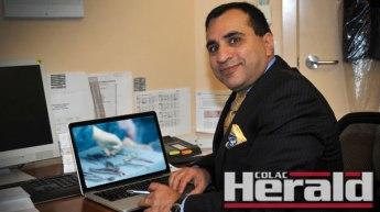 Colac Hospital surgeon Douraid Abbas.