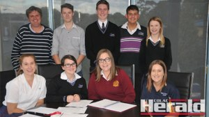 The 2015 Colac Otway Shire Youth Council is planning to participate in this weekend's Anzac Day commemorations at Colac's Memorial Square and a sleep-out raising awareness of homelessness.