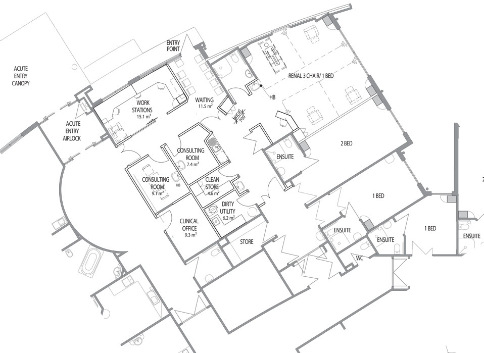 Officials have completed a proposed floor plan for a