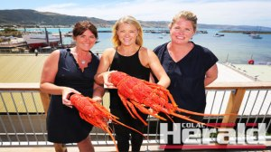 SPECTACULAR: Apollo Bay Seafood Festival committee members, from left, Cate Thomas, Merri Hagan and Yvette Hill are excited for the fifth annual festival on February 20. The festival also added a Friday night opening party on February 19.