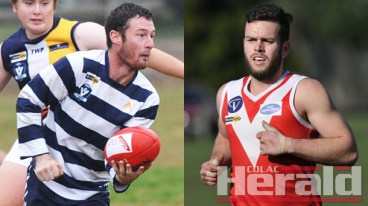 Colac Imperials footballer Tyson Finnigan has returned to Alvie, while Swans midfielder Lachy Mahoney is set to join Apollo Bay.