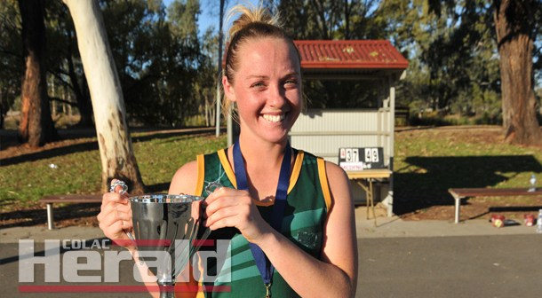 Another medal for decorated Simpson star