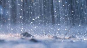 Heavy rain drenched the Otways coastline.