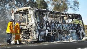 Burnt-bus