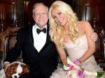 Crystal Hefner le rinde homenaje al fundador de Playboy