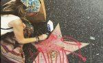 Paris Jackson furiosa por vandalización a estrella en Pase de la Fama