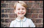 Publican nueva foto del príncipe Jorge por su quinto cumpleaños