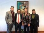 Rocío Madrid directora del IMDECOM gestiona apoyos en la CONADE