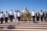 Conmemoran 213 natalicio de Benito Juárez García los tres niveles de Gobierno BCS.
