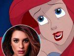 Lindsay Lohan se burla por elección de Lea Michele como Ariel