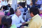 Alcalde Dr. Walter Valenzuela encabeza jornada social en la colonia Indeco