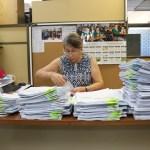 Reparte S.E.P. estatal, 131 mil boletas y 36 mil certificados de básica.