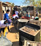 SSA realiza campaña de limpieza en colonia de San José del cabo.