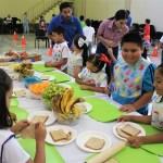 Secretaría de Salud promueve hábitos saludables entre hijos de trabajadores.
