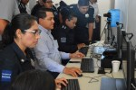 Capacitan a personal policial en manejo de Sistema Biométrico Estatal.