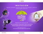 Cultura Comunitaria y Juntos por la paz te invitan a sumarte como agente cultural