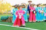 La maestra Claudia González invitada de honor a la Charreada Infantil en Villa Morelos