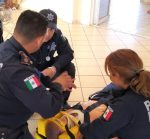 POLICIAS ESTATALES PREVENTIVOS RECIBE CURSO DE ATENCIÓN PARAMÉDICA