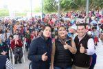 Entrega Rubén Muñoz apoyos y rehabilitación de obras en El Carrizal