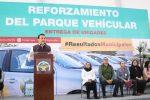 Continúa Rubén Muñoz reforzando con unidades y equipamiento las áreas municipales
