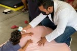 Gracias a los filtros sanitarios se garantizó la salud de las familias resguardadas en los refugios temporales de Los Cabos