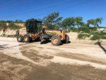 Gobierno de Los Cabos realiza mantenimiento constante de la Avenida Nicolás Tamaral en CSL