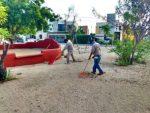 Parques limpios y desinfectados en Los Cabos: Servicios Públicos