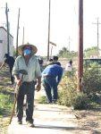 REALIZÓ SALUD ESTATAL UNA JORNADA DE DESCACHARRIZACIÓN EN CIUDAD INSURGENTES
