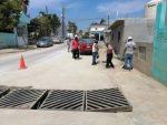 Rehabilita Obras Públicas alcantarilla pluvial colapsada por basura doméstica en CSL